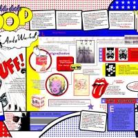 Material didáctico: Infografía Andy Warhol (Academia de Artes Plásticas)