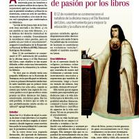 Sor Juana, ejemplo de pasión por los libros (Academia de Lengua y Literatura)