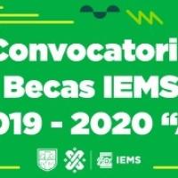 """Convocatoria #Becas @IEMS_CDMX 2019-2020 """"A"""""""