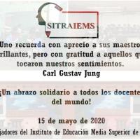 #15demayo #DíadelMaestro
