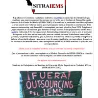 Reducen arbitrariamente el #salario al personal de Intendencia en el @IEMS_CDMX